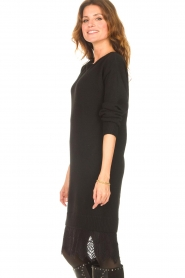 Freebird    Sweater dress with lace Ilsa   black    Picture 6