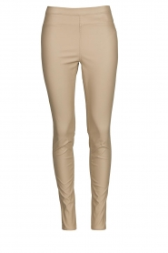 Knit-ted |  Faux leather legging Amber | natural  | Picture 1