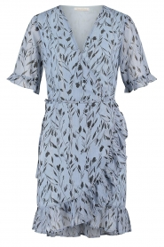 Freebird |  Dress with floral print Rosy |  blue  | Picture 1