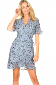Freebird    Dress with floral print Rosy    blue    Picture 4