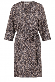 Freebird |  Mini dress with floral print Odette | blue  | Picture 1