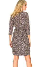Freebird |  Mini dress with floral print Odette | blue  | Picture 6