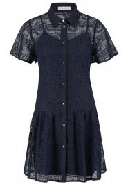 Freebird |  Broderie dress Celeste | blue  | Picture 1