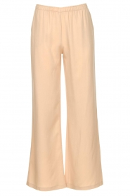 Knit-ted |  Flared pants Marloes | beige