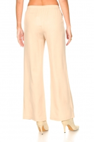 Knit-ted |  Flared pants Marloes | beige  | Picture 7