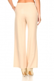 Knit-ted |  Flared pants Marloes | beige  | Picture 6
