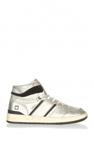 D.A.T.E    High vintage sneakers Isabel   silver    Picture 1