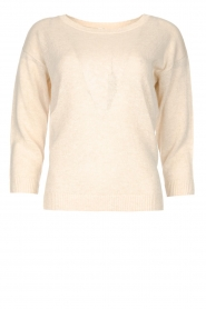 Knit-ted |  Basic sweater Annemone | natural  | Picture 1