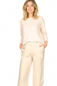 Knit-ted |  Basic sweater Annemone | natural  | Picture 2