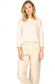 Knit-ted |  Basic sweater Annemone | natural  | Picture 5