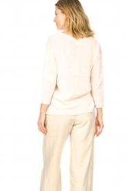 Knit-ted |  Basic sweater Annemone | natural  | Picture 8