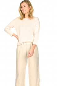 Knit-ted |  Basic sweater Annemone | natural  | Picture 6