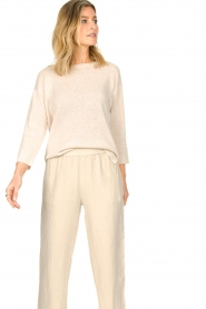 Knit-ted |  Basic sweater Annemone | natural  | Picture 4