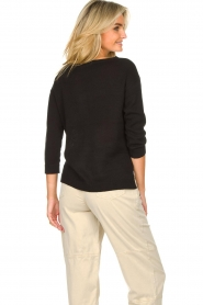 Knit-ted |  Basic sweater Annemone | black  | Picture 7