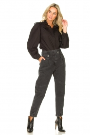 IRO |  Boyfriend jeans Foudon | dark grey  | Picture 4