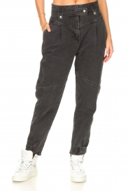 IRO |  Boyfriend jeans Foudon | dark grey  | Picture 5