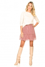 Knit-ted |  Basic sweater with boat neck Poppy | natural  | Picture 3