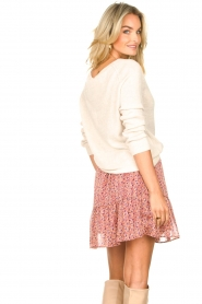 Knit-ted |  Basic sweater with boat neck Poppy | natural  | Picture 5
