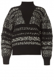 IRO |  Knitted sweater Alpaco | black  | Picture 1