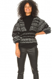 IRO |  Knitted sweater Alpaco | black  | Picture 5