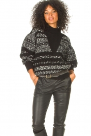 IRO |  Knitted sweater Alpaco | black  | Picture 2