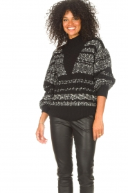 IRO |  Knitted sweater Alpaco | black  | Picture 6