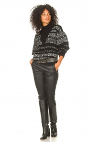 IRO |  Knitted sweater Alpaco | black  | Picture 4
