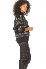 IRO |  Knitted sweater Alpaco | black  | Picture 7