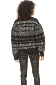 IRO |  Knitted sweater Alpaco | black  | Picture 8