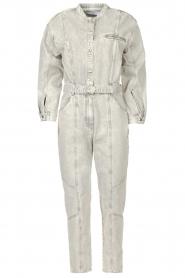 IRO |  Denim jumpsuit Marce | light grey  | Picture 1