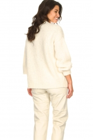 Knit-ted |  Knitted cardigan Bernelle | natural  | Picture 8