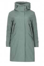 Krakatau |   Luxe parka jacket Mercury | green  | Picture 1