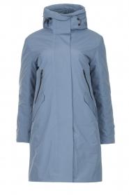 Krakatau |  Luxe parka jacket Mercury | blue  | Picture 1