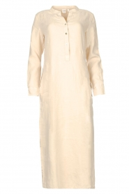 Knit-ted    Linen dress Rebecca   beige    Picture 1