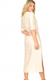 Knit-ted    Linen dress Rebecca   beige    Picture 7