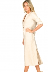 Knit-ted    Linen dress Rebecca   beige    Picture 6