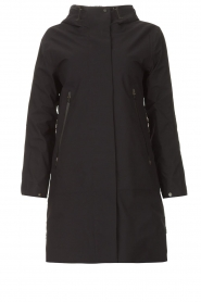 Krakatau |  Parka with detachable quilted Liner | black  | Picture 1