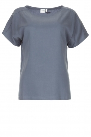 Knit-ted |  Basic T-shirt Jelly | blue  | Picture 1