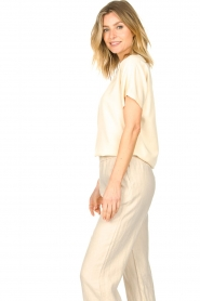 Knit-ted    Basic T-shirt Jelly   Ivory    Picture 6