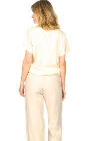 Knit-ted    Basic T-shirt Jelly   Ivory    Picture 7