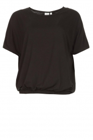 Knit-ted |  Basic top Vanes | black  | Picture 1