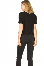 Knit-ted |  Basic top Vanes | black  | Picture 7