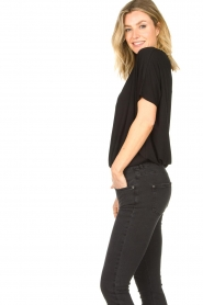 Knit-ted |  Basic top Vanes | black  | Picture 6