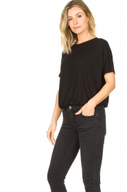 Knit-ted |  Basic top Vanes | black  | Picture 5