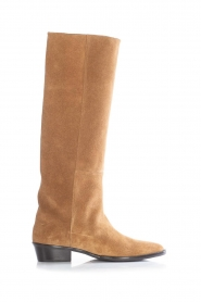 Toral |  High suede boots Seragga | camel  | Picture 1