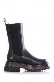 Toral |  Chelsea boots with platform Seta | black  | Picture 1