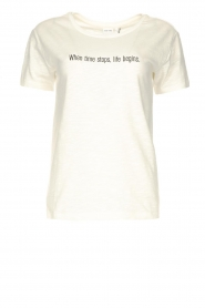 Knit-ted | Basic katoenen T-shirt Pascal | wit   | Afbeelding 1