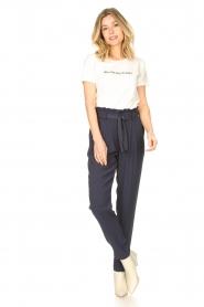 Knit-ted | Basic katoenen T-shirt Pascal | wit   | Afbeelding 3