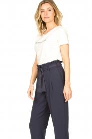 Knit-ted | Basic katoenen T-shirt Pascal | wit   | Afbeelding 5