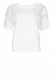 Knit-ted |  Cotton T-shirt Janneke | white  | Picture 1